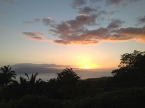 Hoolio sunset