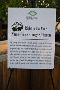 Rights sign