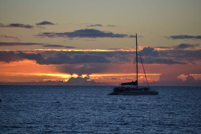 KF Boat Sunset