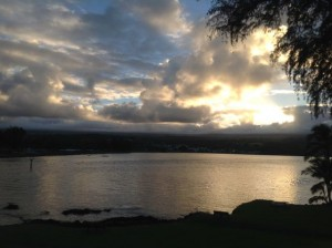 hilo sunset