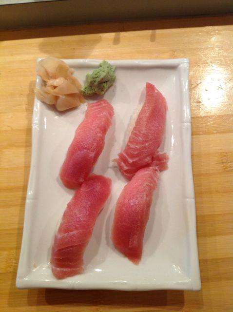 Tuna Belly Sushi  Misophat